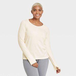Women's Long Sleeve Seamless Top Size L